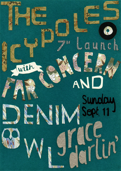 The Icypoles Launch Poster